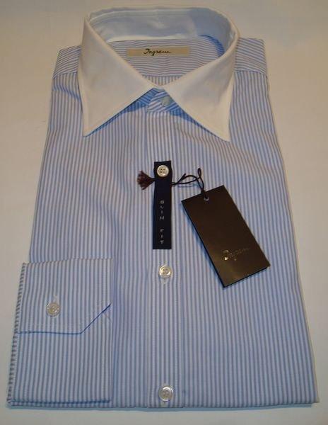 Shirt Men:   INTERCHANGEABLE COLLAR SHIRT