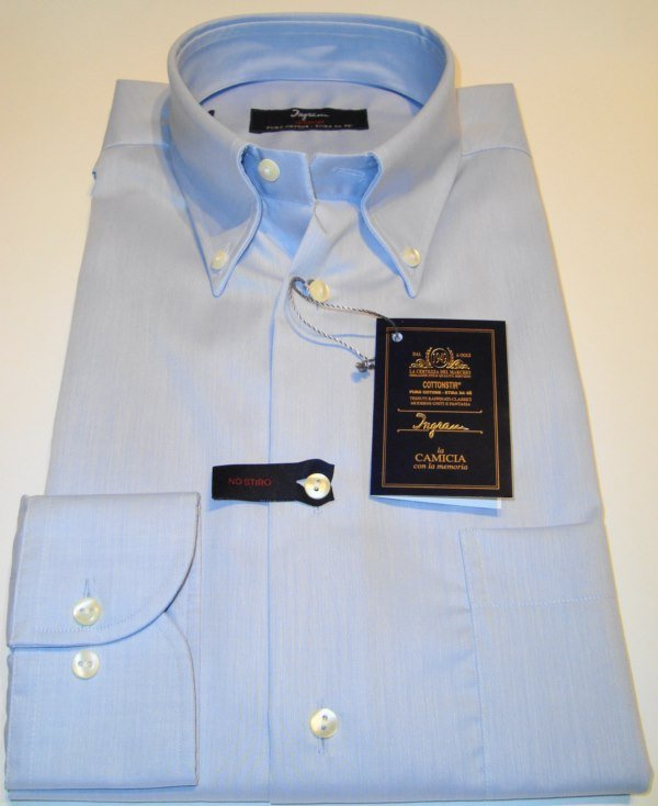 Shirt Men: NON-IRON PLUS SIZE SHIRT