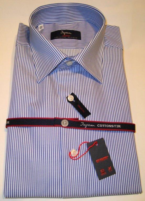 Shirt Men: NON-IRON STRIPED SHIRT