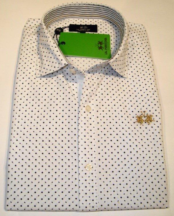 Shirt Men: POLKA DOTS COTTON SHIRT