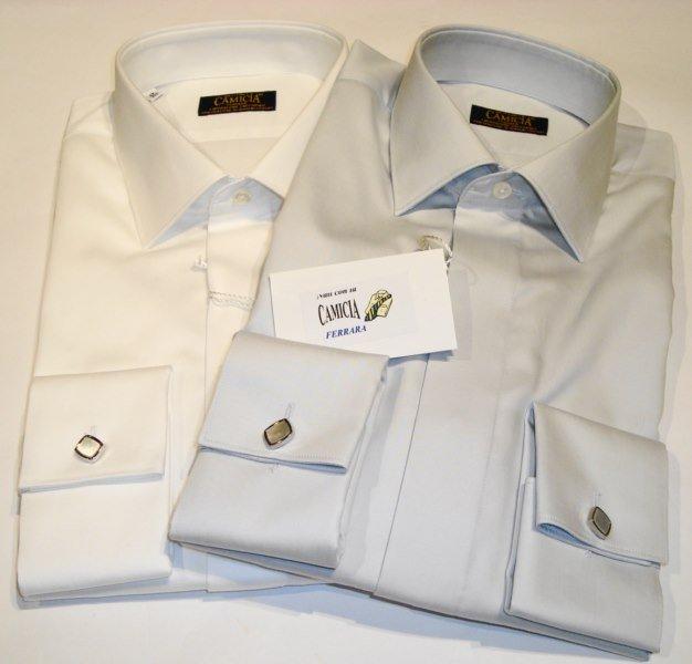 Shirt Men: ELEGANTES HEMD MIT MANSCHETTENKNÖPFEN