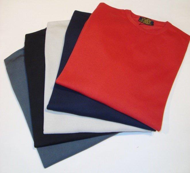 Sweater: 100% BAUMWOLL-CREW NECK PULLOVER