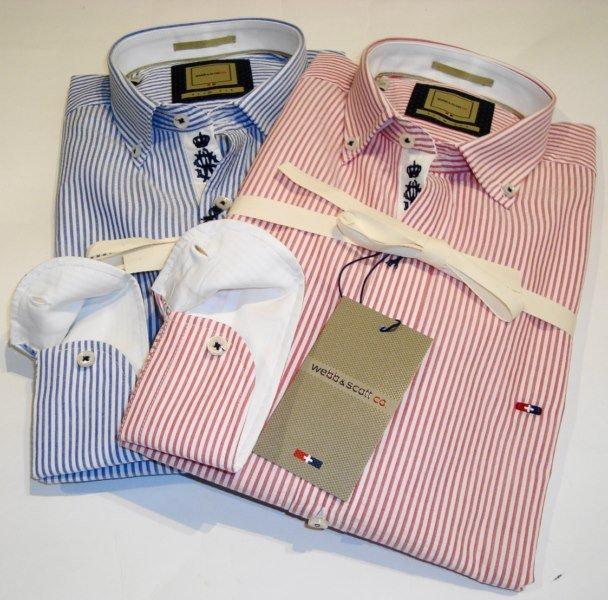 Shirt Men: SEERSUCKER COTTON SHIRT