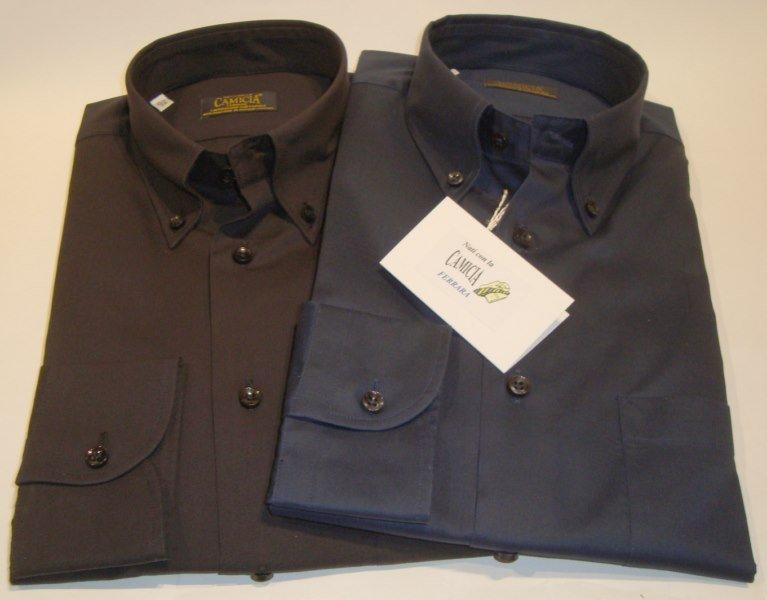 Shirt Men: TWILL COTTON SHIRT