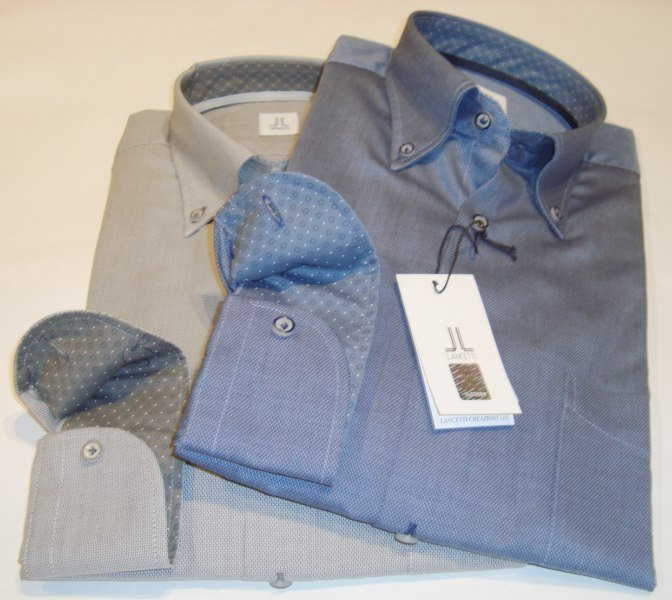 Shirt Men: MODERN WORKED COTTON SHIRT