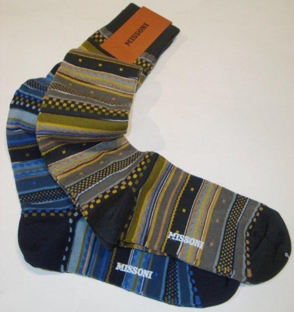 Sock Men: MISSONI LANGE SOCKEN