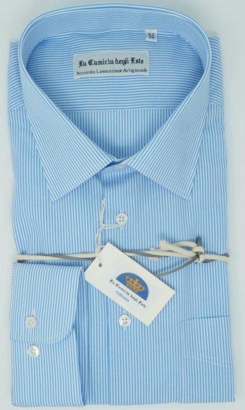 Shirt Men: GESTREIFTE GROßE GRÖSSE HEMD