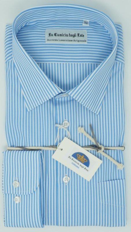 Shirt Men: STRIPED BIG SIZE SHIRT