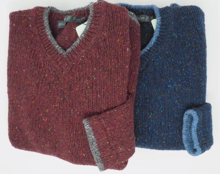 Sweater: IRISH PULLOVER 100% WOOL