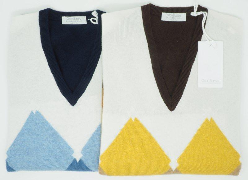 Sweater: WOLLE UND KASCHMIR PULLOVER