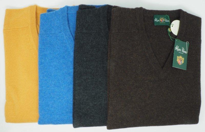 Sweater: V-AUSSCHNITT PULLOVER
