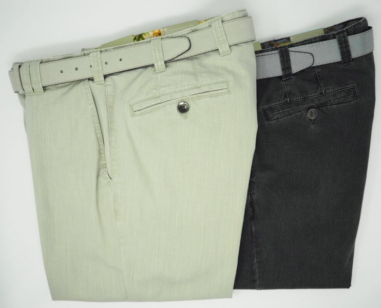 Pant: COTTON ADJUSTABLE WAIST PANTS