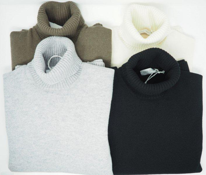 Sweater: PURE WOOL CYCLIST SWEATER