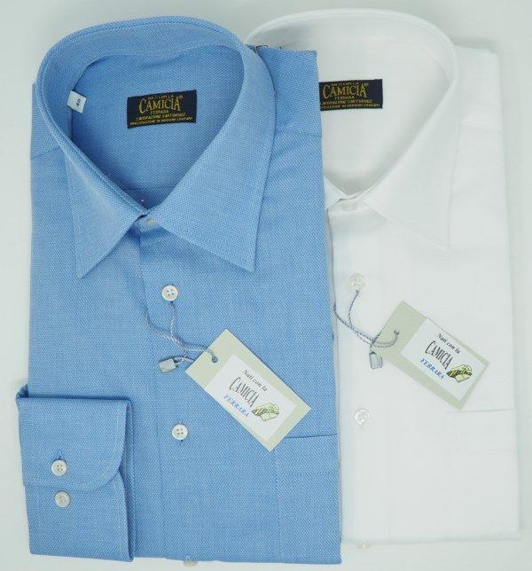 Shirt Men: 100% COTTON PIQUET SHIRT