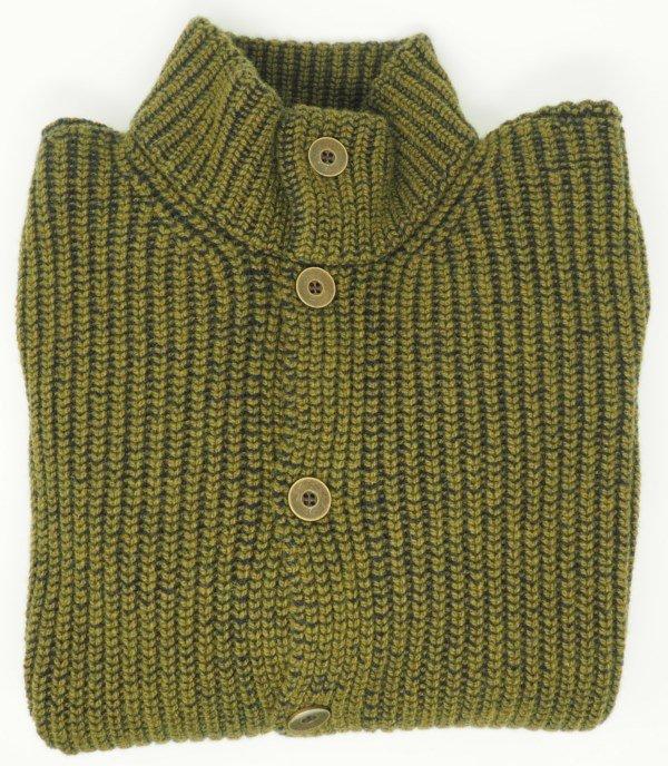 Sweater: RIB CARDIGAN
