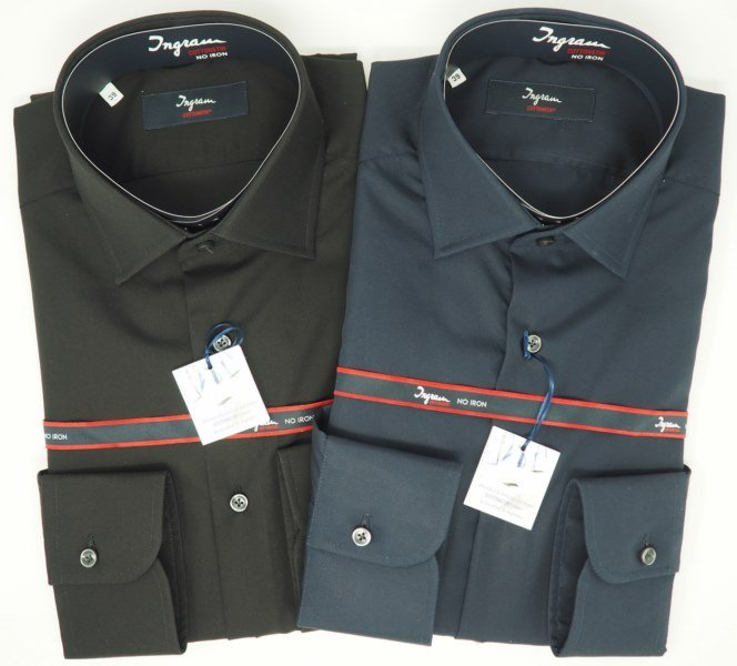 Shirt Men: NO IRON 100% COTTON SHIRT