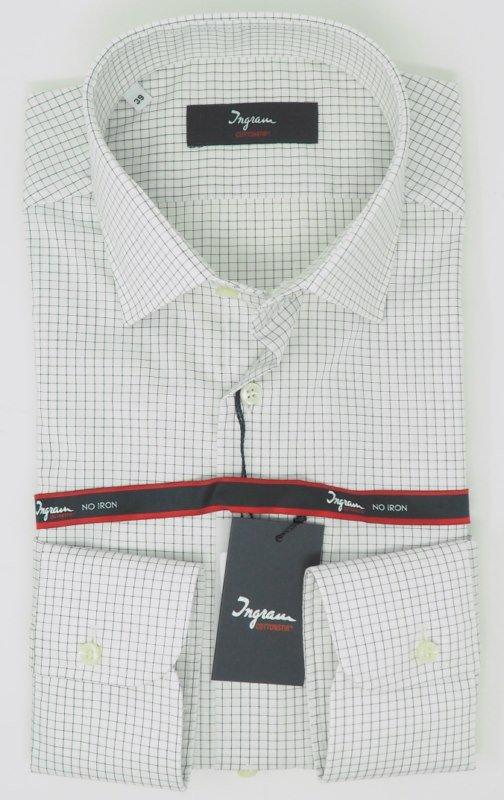 Shirt Men: CHECKED NON IRON SHIRT