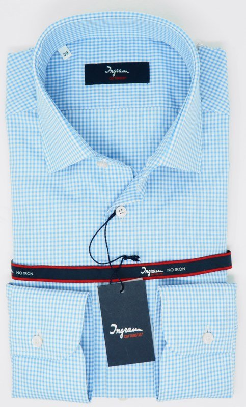 Shirt Men: FREE-IRON CHECKED SHIRT