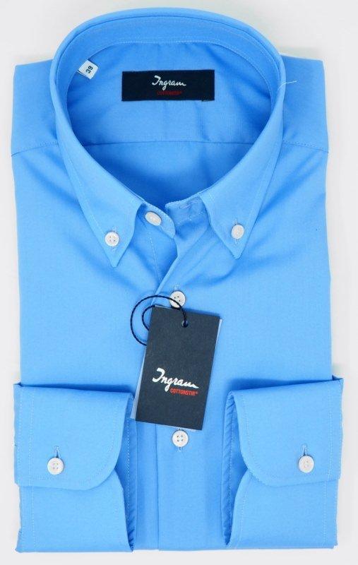 Shirt Men: NO-IRON POPLIN SHIRT