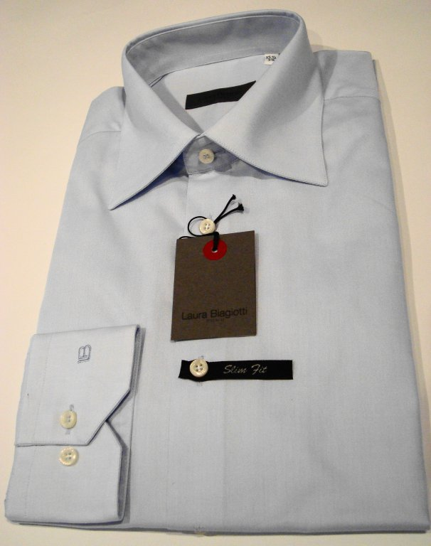 Shirt Men: SLIM FIT COTTON  SHIRT