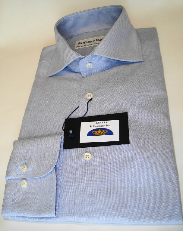 Shirt Men: OXFORD COTTON SLIM FIT