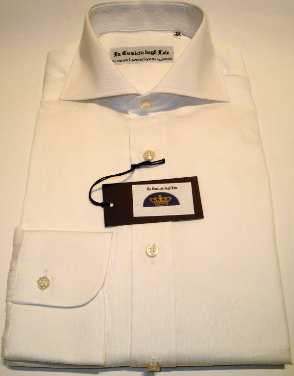 Shirt Men: PIQUET COTTON SHIRT