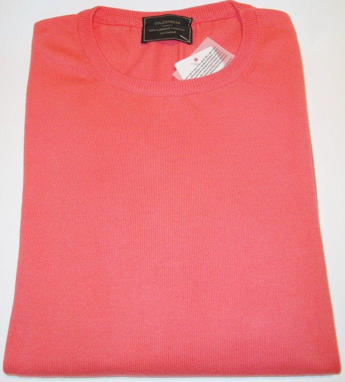 Sweater: 100% COTTON CREW NECK JUMPER