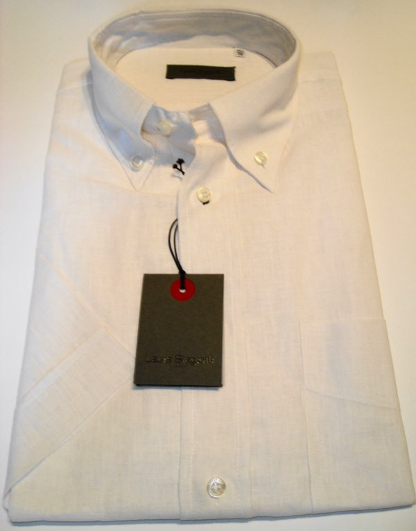 Shirt Men: SHORT SLEEVE GAUZE SHIRT