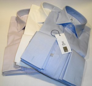 SLIM FIT DOUBLE CUFFED SHIRT