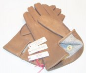 DEERSKIN LEATHER GLOVES DENTS