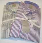 CAMICIA A RIGHE COLORATE WEBB & SCOTT