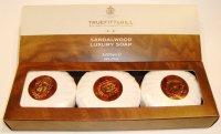 SANDAL SOAPS 3x150 GR TRUEFITT & HILL