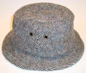 IRISH TWEED CLOCHE HAT HANNA HATS