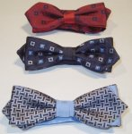BOW TIE WITH TIPS HARVEY & CO