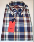 CAMICIA A SCACCHI COLORATA INGRAM