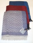 WOOL AND VISCOSE SCARF 90X190 LA FERRIERE