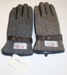 HANDSCHUHE HARRIS TWEED CHRISTIE'S LONDON