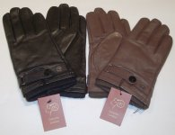 ADJUSTABLE LEATHER GLOVES