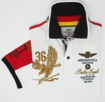 POLO PIQUET BALTIC EAGLE AERONAUTICA MILITARE