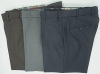 FLANNEL ADJUSTABLE WAIST PANTS MEYER