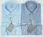 BIG SIZE STRIPED SHIRT WEBB & SCOTT