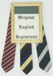 ORIGINAL ENGLISH REGIMENTAL TIE
