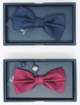 100% SILK BOW-TIE SELBSTBINDUNG OLD CREST