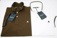 COTTON PIQUE POLO AQUASCUTUM
