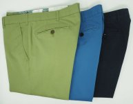 LIGHTWEIGHT COTTON PANTS MEYER